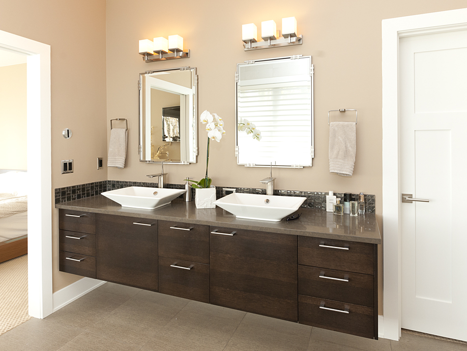 Product details contemporary master bathroom aura for Master bath cabinets
