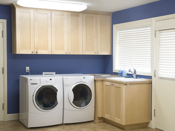Laundry Room Natural Maple