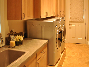 Laundry Room QSawn White Oak Natural Glaze Europea