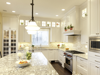 Traditional Painted Kitchen Cabinetry